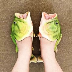 Fish Animal Slippers Summer Beach Sandals Shower Slippers Non-slip Funny Beach Shoes Wear for Women Men * To view further for this item, visit the image link. (This is an affiliate link) Green Fashion, Women's Summer Fashion, Beach Fashion, Fish Flip Flops, Shower Slippers, Crazy Heels, Funny Shoes, Unique Shoes, Quirky Shoes