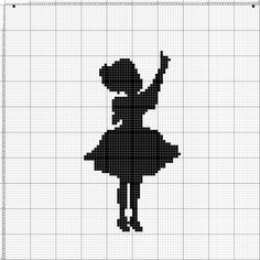 Fillet Crochet, C2c Crochet, Freeform Crochet, Tapestry Crochet, Bead Loom Patterns, Cross Stitch Patterns, Crochet Patterns, Cross Stitch Silhouette, Black And White Pictures