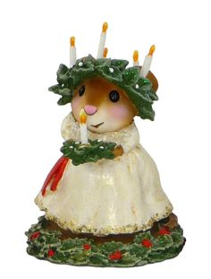 st lucia day cat | Home / WEE FOREST FOLK / CHRISTMAS / Santa Lucia