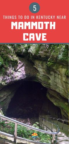 Mammoth Cave Kentucky is a great place to visit with kids if you are looking to get out of the big cities and have some adventure! Visiting the caves is a fun place to get out and stretch your legs on road trips, but the surrounding area is a travel destination all its own for families! Check out all the fun things to do in the area - tips for the cave, a farm visit, and more! #MammothCave #Kentucky #familiytravel #roadtrip