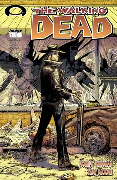 #ComicBooks on my blog  http://chadschimke.blogspot.com/search/label/COMIC%20BOOKS WALKING DEAD – A graphic novel, The Walking Dead (Days Gone Bye) by Robert Kirkman is told from the protagonist's POV. He's a lawman that comes out of coma to find a world that's nothing like the one he knew, before his big sleep. It's more about survival in a post-apocalyptic society than a volume on epidemics and zombies.