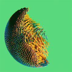 Totally looks like fish shoals changing direction. - Colourflow: Dizzying Experimental Particle Animations and Renderings by David McLeod Trump Hair, Amazing Art, Amazing Makeup, Ui Animation, Colossal Art, Ap Art, Geometric Art, Types Of Art, Experimental