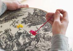 Richard Saja, Embroidery Artist | The Etsy Blog