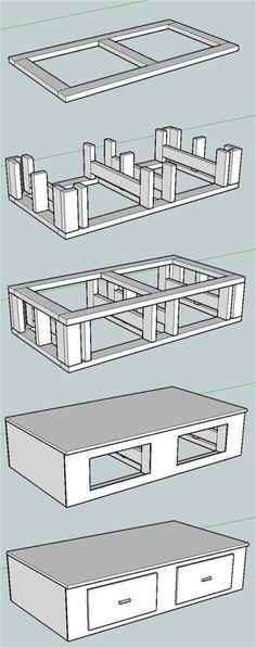 Plans for washer/dryer pedestal