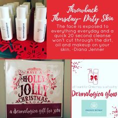 #ThrowbackThursday We're giving the gift of clean skin to our clients this year! s.ripl.com/o5b1eh #dianasays
