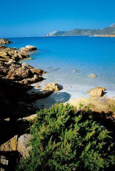 Littoral sauvage et préservé de la Corse