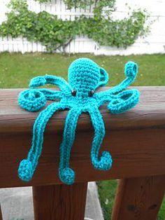 Mister Octopus the Amigurumi - Free Crochet Pattern (diy crochet toys libraries)