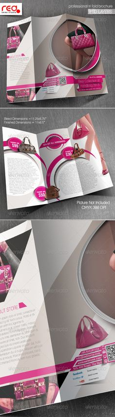 Product Promotion Trifold Brochure Template — Photoshop PSD #product promotion #brochure • Available here → https://graphicriver.net/item/product-promotion-trifold-brochure-template/5816924?ref=pxcr