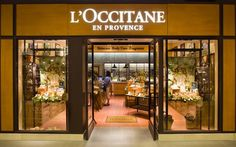 The L'Occitane en Provence store : inspired from Provence
