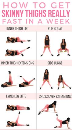 How To Get Skinny Thighs Fast In A Week This is not the time to waste time searching for better ways to get skinny Thais. This is the time to achieve it perfectly. Click and find the best exercise ideas for this. Fitness Workouts, Fitness Workout For Women, Body Fitness, At Home Workouts, Fitness Tips, Health Fitness, Leg Workout At Home, Workouts To Burn Fat, Back Of Thigh Workout