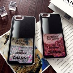 韓流ブランド iphone7 流砂 ケース シャネル アイフォン7/6s プラス キラキラ カバー chanel iphone6s ネイル風 ケース おしゃれ 女性愛用送料無料