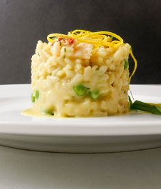 Lobster Risotto, Seafood Risotto, Lobster Salad, Dinner Side Dishes, Seafood Dishes, Seafood Buffet, Main Dishes, Lobster Recipes, Risotto