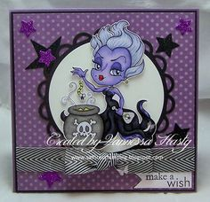 Saffire's Stamping: Make A Wish with Ursula