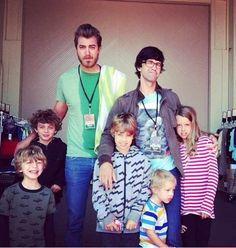 Rhett and Link and kids