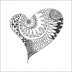Tutorial:  Doodling... and Zentangles!  by Barbara Strembicki