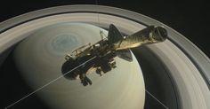 Cassini encerra sua missão mergulhando na atmosfera de Saturno.