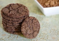 Simple Delicious Dark Chocolate Cookies