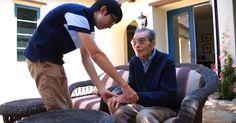 Teen Creates Brilliant Solution For Grandpa With Alzheimer's Disease via LittleThings.com