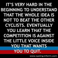 Oh how true that is.  like when you fall and feel defeated but get back up and TRY AGAIN--- quitting is forever!