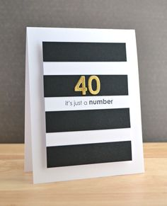 Thanks for joining us for another challenge! Things are a bit back to front this week so we'll be bringing the winners of our previous challenge tomorrow. Simple Birthday Cards, Birthday Numbers, Birthday Cards For Men, Handmade Birthday Cards, Memories Box, Card Making Inspiration, Making Ideas, Old Cards, Milestone Birthdays