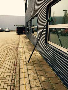 Glasbewassing met telewash #groothuisdienstverlening #glasbewassing #glazenwasser