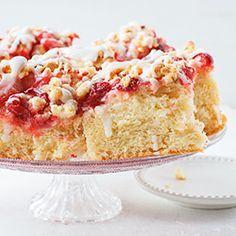 Ciasto drożdżowe z truskawkami | Blog | Kwestia Smaku