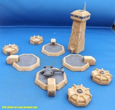 Brigade Models - 6mm VTOL Airfield