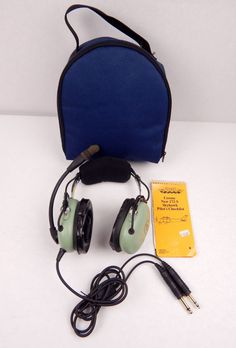 David Clark Aviation Headset H10-13.4 /w Carry by VintageMod365