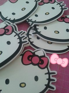 Convites Hello Kitty
