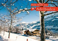 Viele Grüße aus Adelboden | Urlaubsgrüße | Echte Postkarten online versenden…