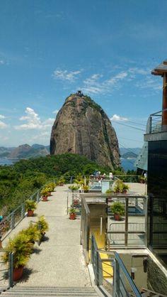 Morro do Pão de Açúcar em Rio de Janeiro, RJ