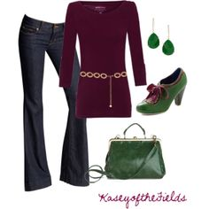 purple and green hues Girl Outfits, Casual Outfits, Fashion Outfits, Casual Clothes, Womens Fashion, Fashion Ideas, Mardi Gras Costumes, Pinterest Fashion, Beautiful Blouses
