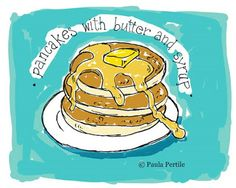 Drawing a Fine Line: digital food illustrations