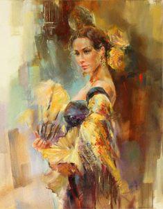 """""""Yellow Rose"""" by Anna Razumovskaya"""