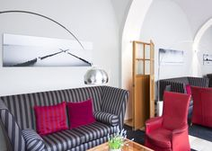 We excited to announce that we have the great privilege of having 4 large-scale photographs showing in the first design Hotel in Austria. Sofa, Couch, Trieste, One Design, Showroom, Furniture, Home Decor, Settee, Settee