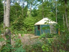 If you're looking for something a little different, though, Wild Cherry also offers yurts for overnight rental. You've never camped quite like this before. Weekend Trips, Vacation Trips, Vacation Spots, Lake Leelanau, Yurt Camping, Michigan Travel, Places To Go, Beautiful Places, Yurts