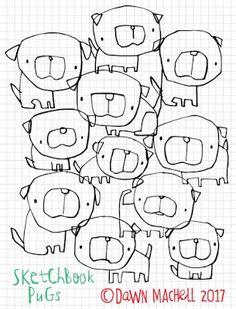 a64523f4c09 Las 67 mejores imágenes de Perrutus | Doggies, Dog art y Dog paintings