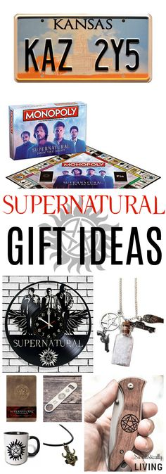 15 Gift Ideas for Your Supernatural Sweetheart #supernatural #valentinesday #giftideas #samanddean via @simplistcliving
