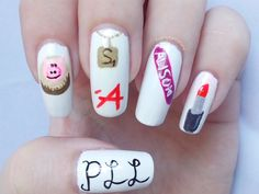 Tanya Minxy Nails: Matching Manicures: Inspired By A TV Series - Pretty Little Liars Nails