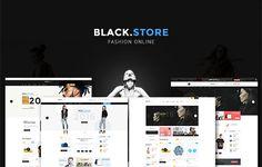 Link: https://themeforest.net/item/ves-blackstore-magento-2-template-with-pages-builder/19136258?ref=venustheme #blackwhite #magento2 #theme