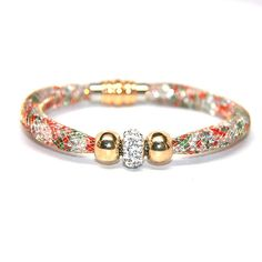 BEAUTIFUL Mesh Crystal Bracelet Multi Colors - FREE SHIPPING!