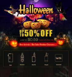 Halloween Sales, from Cigabuy Halloween Sale