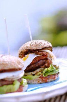 Recept: BBQ (vegetarische) burgers met aubergine Jaimy's