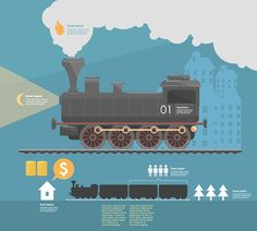 infographics layouts on Behance