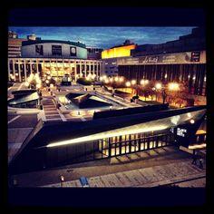 Place des Arts de Montreal #montreal #pda #placedesarts #quebec photo:carolinebergeron.com