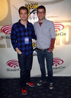 Chris Pine Zachary Quinto Gay | Chris Pine & Zachary Quinto Zach Quinto and Chris Pine