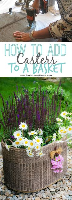 DIY Planter Basket {