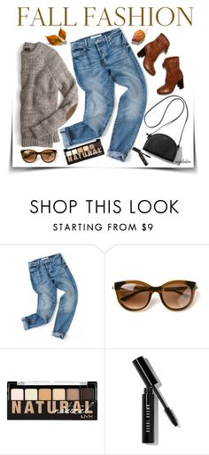 """""""Fall Fashion"""" by angkclaxton ❤ liked on Polyvore featuring Thierry Lasry, Tory Burch, NYX and Bobbi Brown Cosmetics"""