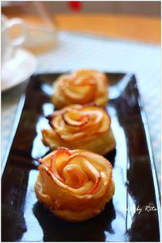 玫瑰花蘋果派