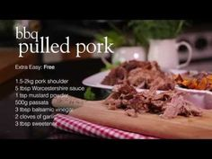 Tuck into this healthy version of an all-American classic. In this video recipe lean pork is slow-cooked then shredded or 'pulled' and layered with barbecue sauce.